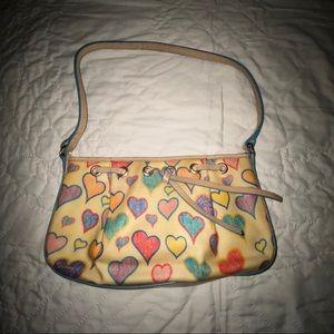 Dooney and Bourke Hearts Mini Bag